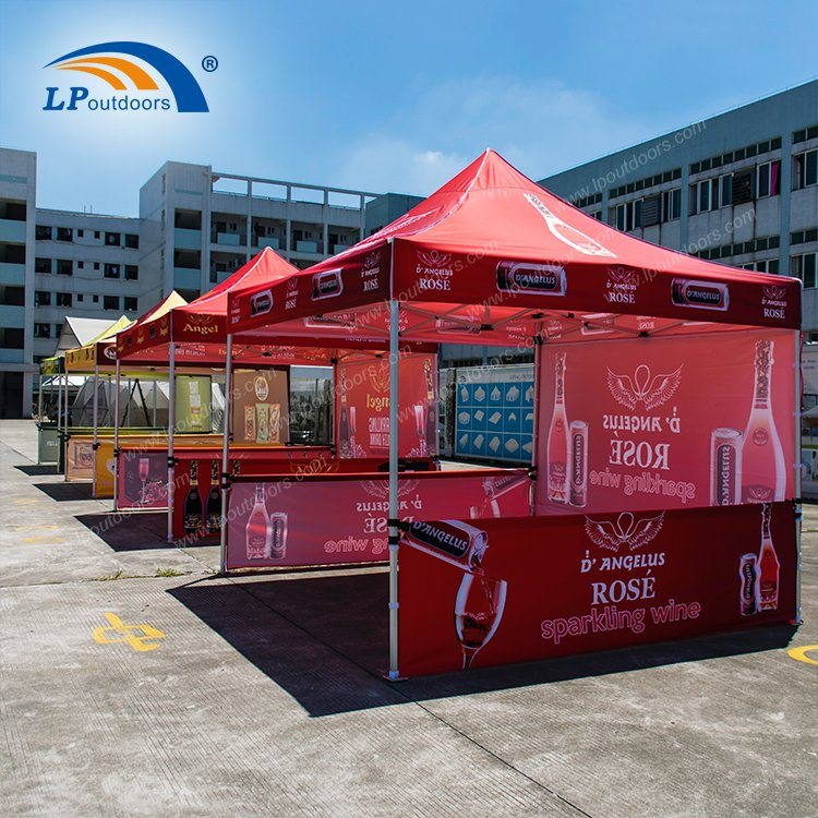 3X3m Outdoor Promotion Pop up Canopy For Show