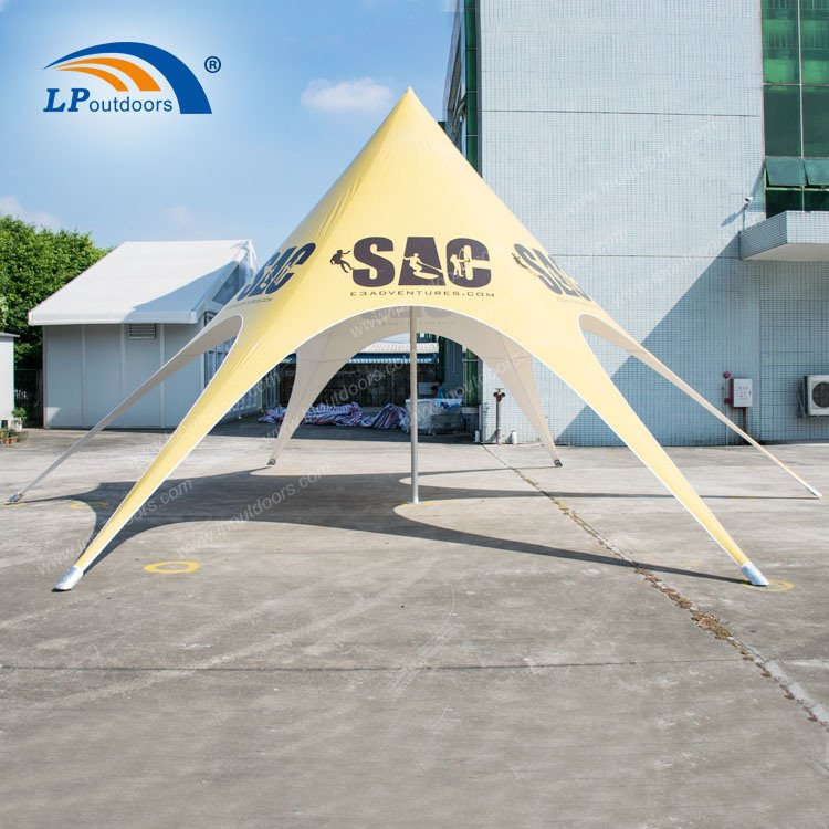 Lp Outdoor High Quality Star Shade Spider Tent for Sale