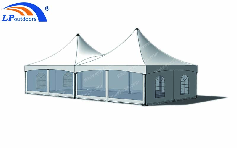 6X12 double top frame tent