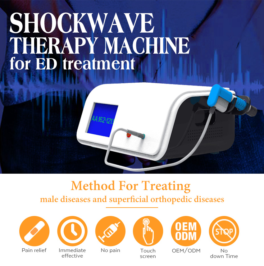 Low Intensity extracorporeal shock wave therapy machine