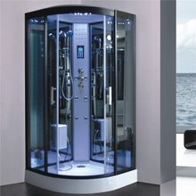 Luxury Glass Steam Shower Cabin with computer control