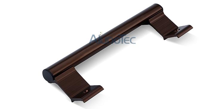 Aluminium Double Side Door Hook Lock Pull Handles - Buy door pull ...