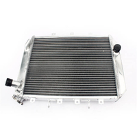 Custom Aftermarket Motorcycle Aluminum Water Cooling Radiator For Kawasaki