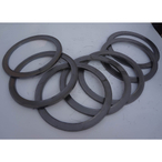 Die formed graphite packing ring for refractory industry