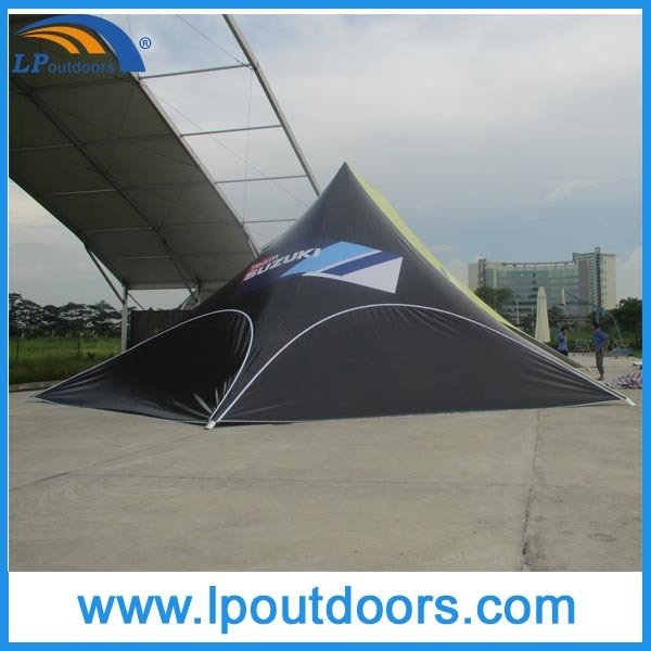 16X21m Outdoor Full Logo Printing Beach Star Tent for Sale