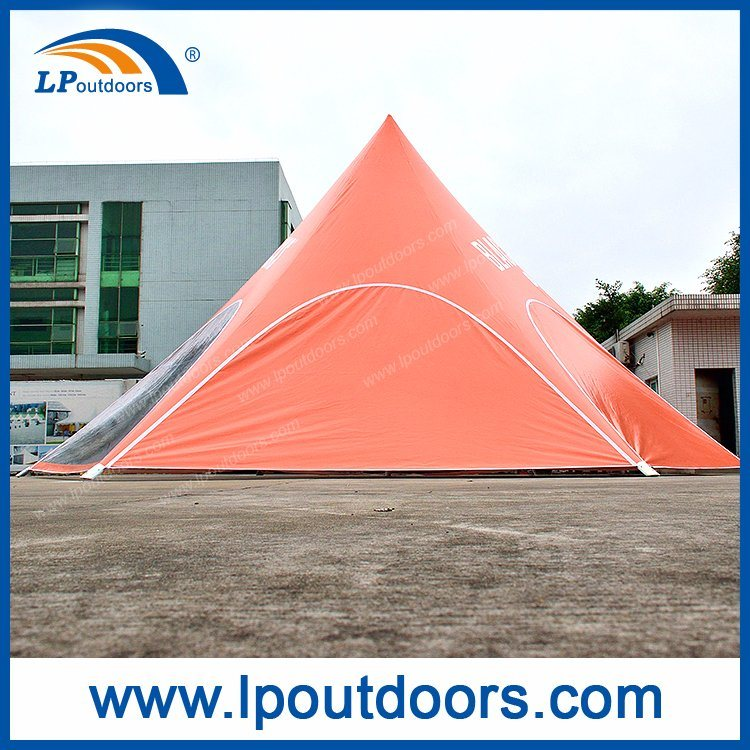 10m Outdoor Spider Shade Red Bull Star Tent for Event