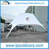 Outdoor 10X14m Aluminum Star Shade Logo Printing Star Tent