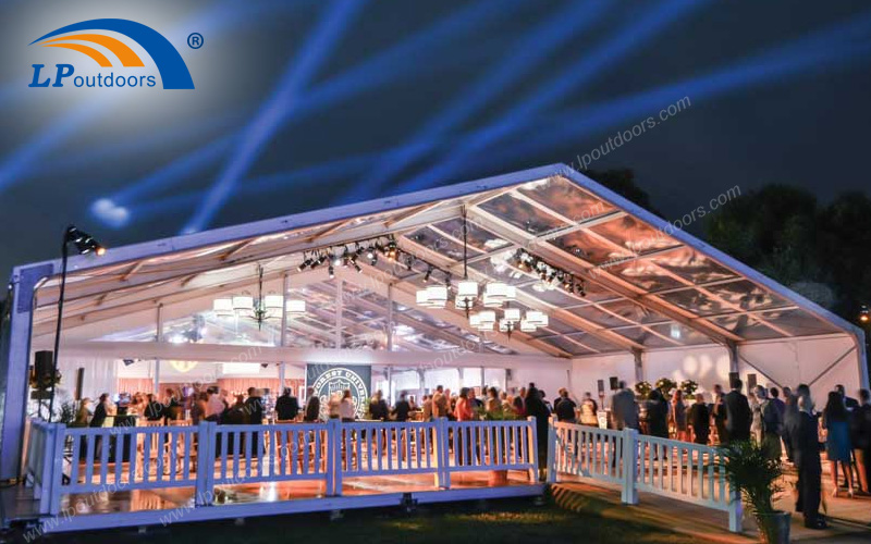 Custom Made 25X75M Event Party Tent