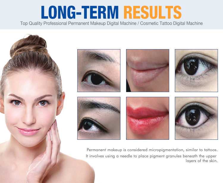 permanent makeup machine kit long-term results