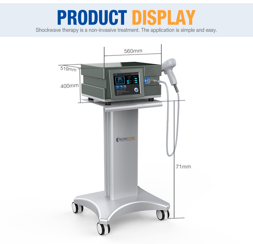 shockwave therapy machine product display