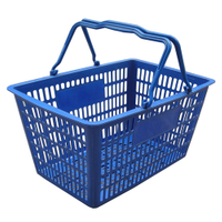 Plastic shopping Basket (YRD-Tz)