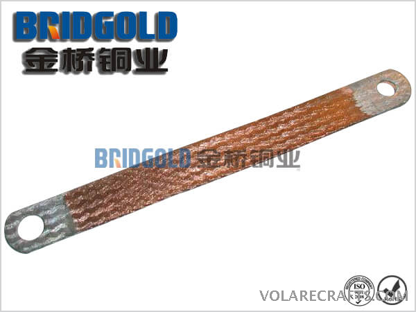 Copper Braided Connectors with Welded Ends