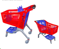 YRD-S130L Plastic Shopping Cart