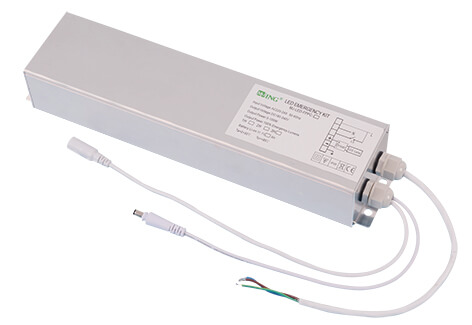 Emergency backup for 40w led panel light