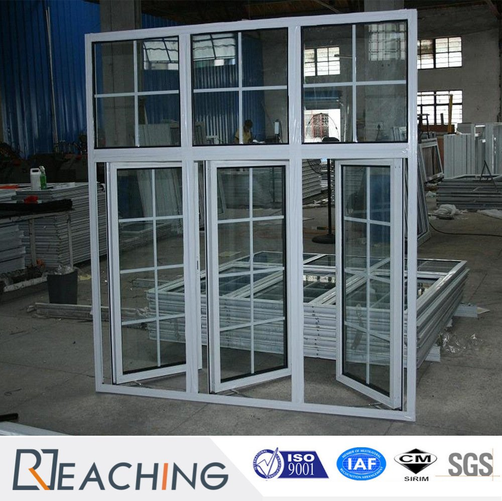 French Style Casement Window Aluminium Double Glazing Window from ...
