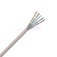 U/UTP CAT6 4Pairs CPA Conductor Twisted Pair Installation Cable