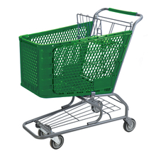Plastic Shopping Cart P-3(180L)