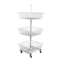 3 Tier Square Basket Display
