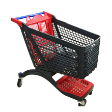 2018 July New plastic shopping cart