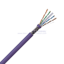 SF/UTP CAT6 BC PE Twisted Pair Installation Cable