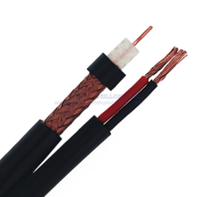 КВК-П-2Э+2х0.50, Figure 8 75 Ohm CCTV Coaxial Cable