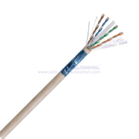 F/UTP CAT6 BC LSZH Twisted Pair Installation Cable