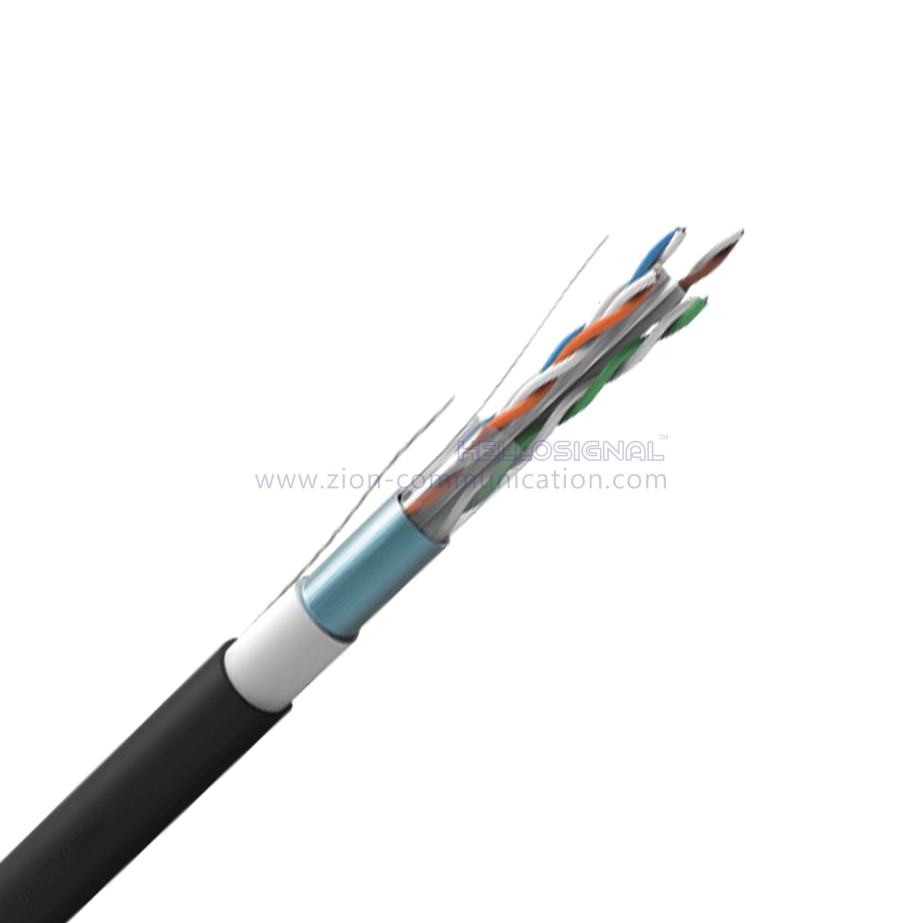 HELLOSIGNAL Industrial CAT6A Cable