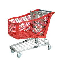 2018 September NEW Plastic Shopping Cart 180L