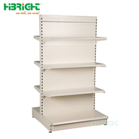 European style Gondola Shelving Retail store shelf