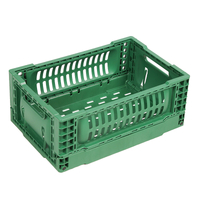 HDPE Plastic Foldable Collapsible Crate 3212B