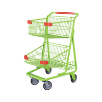 Two Tiers Shopping Cart