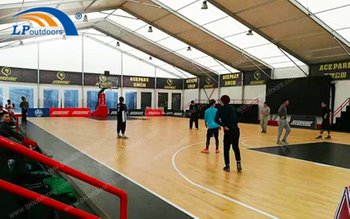 Modular Temporary Aluminum Basketball Stadium Tent Has Become The Mainstream of Outdoor Sports Facilities