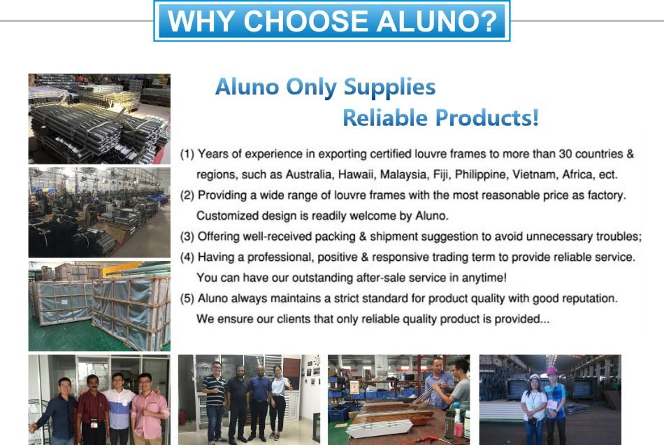 Australian Standard Aluminum Glass Clip Shutter Frame - Buy louvre ...